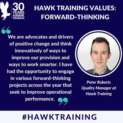 Peter Roberts - Forward-thinking