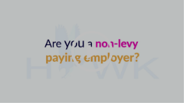 Video for non-levy payers
